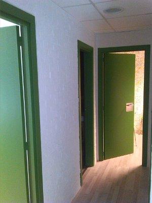esmaltado de puertas
