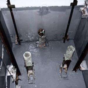 Foso de ascensor o hueco de ascensor