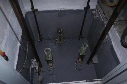 Impermeabilización foso de ascensor con pintura epoxi