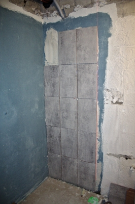 Impermeabilización zona plato de ducha