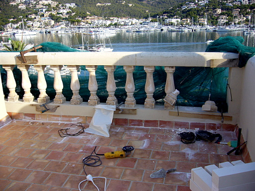 Cambio balustrada