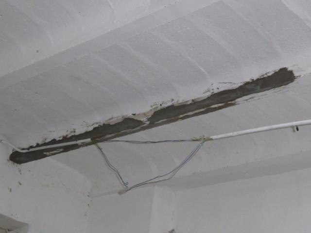 Reparación viguetas sótano