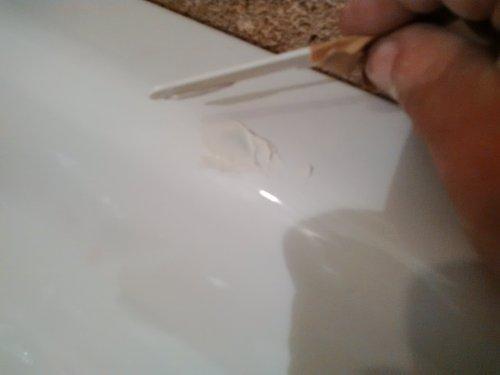 masilla bicomponente para bañera
