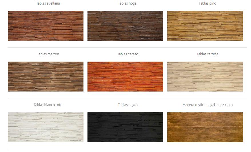 Paneles madera - Reformas en Mallorca