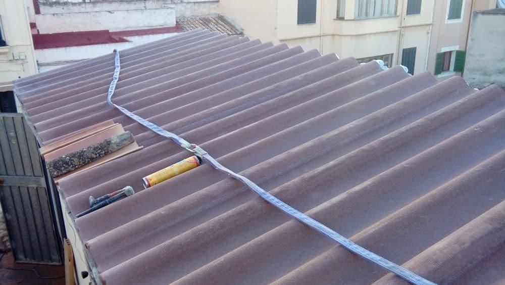 Impermeabilizaci n de tejado con placa ondulada r gida - Impermeabilizacion de tejados ...
