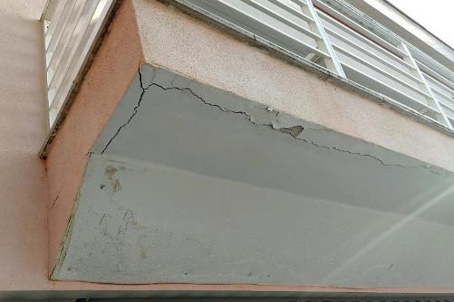 Patologías en fachadas de edificios