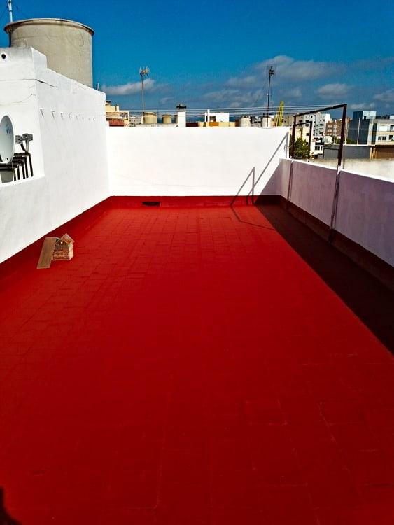 Impermeabilizar terrazas con caucho
