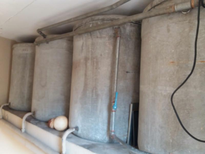 depósitos de agua uralita